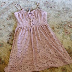 Blush colores dress